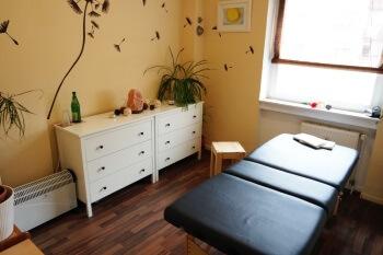 Bild Behandlungsraum Massage - Heilpraktikerin Wagensommer